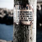 Lighthouse Keepers Warning by Craig Goldsmith