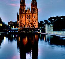 St Marys Cathedral - Sydney Festival First Night - Australia by Bryan Freeman
