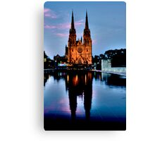 St Marys Cathedral - Sydney Festival First Night - Australia Canvas Print