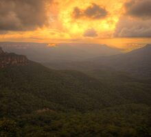 Contemplation - Jamieson Valley - Blue Mountains World Heritage Are - The HDR Experience by Philip Johnson
