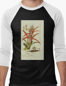 Plantarum Indigenarum et Exoticarum - Lukas Hochenleitter und Kompagnie 1788 - 016 - Bromelia Pinguin or Penguin Men's Baseball ¾ T-Shirt