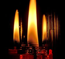 Water Candles by Eugenio