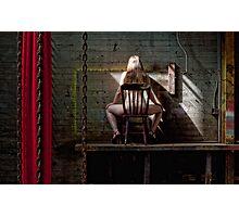 The naughty corner Photographic Print