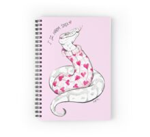 Warm Snek Spiral Notebook