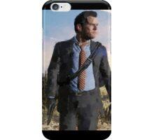 Michael de Santa - GTA V - Digital Repaint iPhone Case/Skin