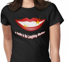 No Laughing Matter - Sparkle Womens Fitted T-Shirt