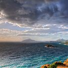Aegeus waiting for his son  by StamatisGR