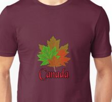 Canadian Maple Leaves Unisex T-Shirt