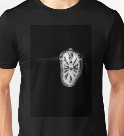 Salvador Dali Inspired Melting Clock Unisex T-Shirt