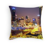Melbourne, Southbank Throw Pillow