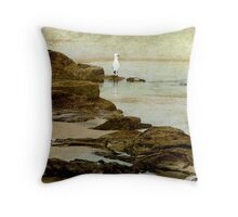 Edge of flight ... Throw Pillow