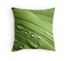 Greendrop Throw Pillow