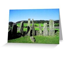 Cairn Holy - Dumfries and Galloway Greeting Card