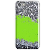 Cement in Green iPhone Case/Skin