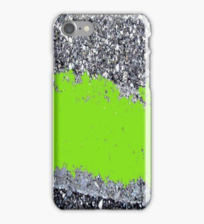 Cement in Green iPhone Case/Skin