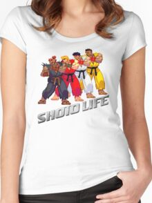 Shoto Life Women's Fitted Scoop T-Shirt
