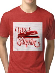 My Swingline Stapler Tri-blend T-Shirt
