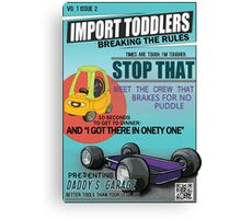 Import Toddlers - vo. 1 issue 2 Canvas Print
