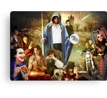 Madness at Megiddo Canvas Print