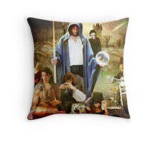 Madness at Megiddo Throw Pillow