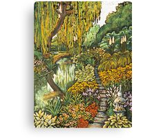 A Willows Reflection Canvas Print
