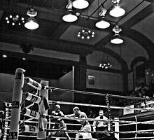 Blue Horizon Boxers 5 by Ed Wheeler