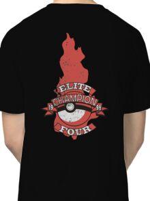 Elite Four Champion Flame Classic T-Shirt