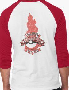Elite Four Champion Flame Men's Baseball ¾ T-Shirt