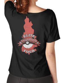 Elite Four Champion Flame Women's Relaxed Fit T-Shirt