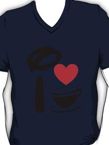 I Heart Tea Cups T-Shirt