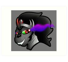 MLP: Smirking Sombra Art Print