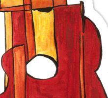 classical guitar Sticker