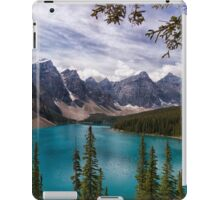 The Valley of the Ten Peaks iPad Case/Skin
