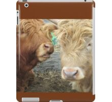 Vincent and Gabriel  17 March 2015 iPad Case/Skin
