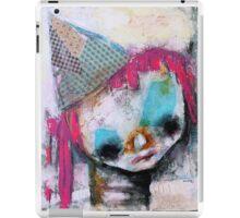 Pink Hair Clown  iPad Case/Skin