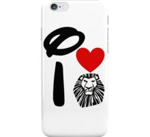 I Heart The Lion King iPhone Case/Skin