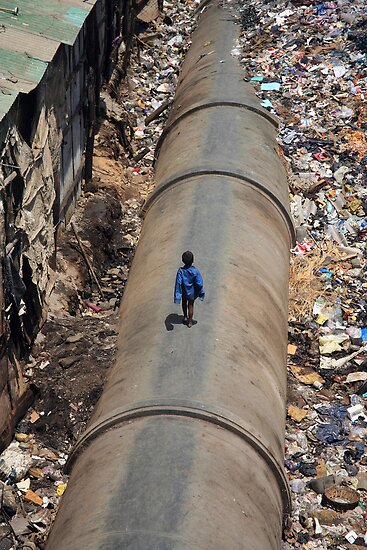 Dharavi, Mumbai, India by PaulineC