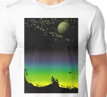 Sunset on a marvelous alien planet Unisex T-Shirt