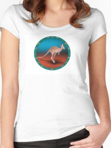Kangaroo Women's Fitted Scoop T-Shirt