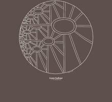 Cosmic Sunflower [white design] Mens V-Neck T-Shirt
