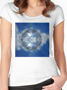 ©DA Spherize FXV2. Women's Fitted Scoop T-Shirt