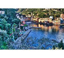 Portofino Paint Photographic Print