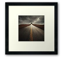 The way it grows Framed Print