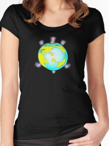 Turtle World Women's Fitted Scoop T-Shirt