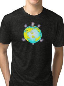 Turtle World Tri-blend T-Shirt