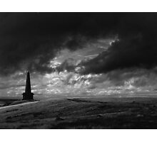 The Lonely Path, Stoodley Pike, Todmorden. Photographic Print