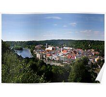 Wasserburg Poster