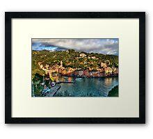 Portofino Paint  two Framed Print