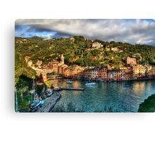 Portofino Paint  two Canvas Print