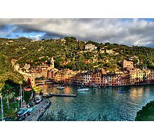 Portofino Paint  two Photographic Print
